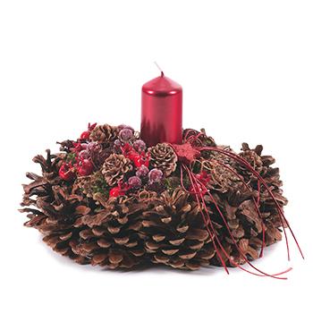 Advent - bloem geschenken en decoraties - Flowercreations