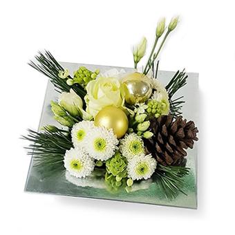 kerst - zakelijke bloem geschenken en decoraties - Flowercreations