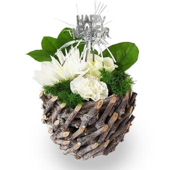 nieuwjaar - bloem geschenken en decoraties - Flowercreations